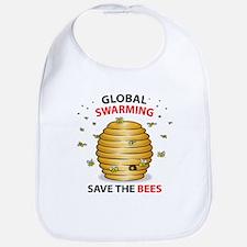 Save The HoneyBee Environmental Bib