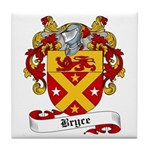 Bryce Family Crest Tile Coaster