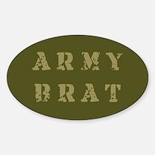 Army Brat Oval Decal