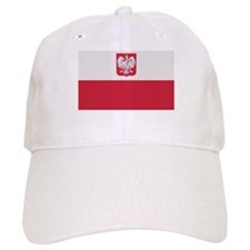 Flag of Poland Baseball Cap