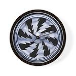 Lightning Wheel Wall Clock