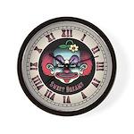 Scary Clown Wall Clock