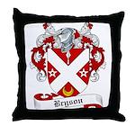 Bryson Family Crest Throw Pillow