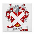 Bryson Family Crest Tile Coaster