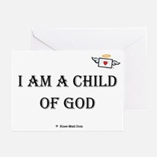I Am A Child of GOD Greeting Cards (Pk of 10)