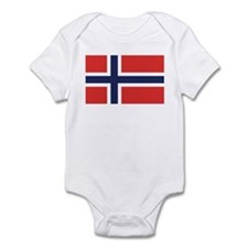Flag of Noway Infant Bodysuit