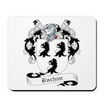 Buchan Family Crest Mousepad