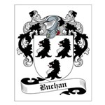 Buchan Family Crest Small Poster