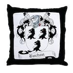 Buchan Family Crest Throw Pillow