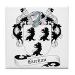 Buchan Family Crest Tile Coaster