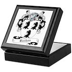Buchan Family Crest Keepsake Box