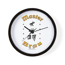 Master Brau Wall Clock