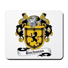 Buchanan Family Crest Mousepad
