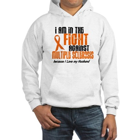 In The Fight Against MS 1 (Husband) Hooded Sweatsh