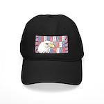 USA Pride Black Cap