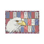 USA Pride Rectangle Magnet (10 pack)