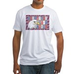 USA Pride Fitted T-Shirt