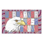 USA Pride Rectangle Sticker