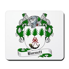Burnett Family Crest Mousepad