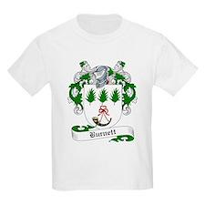 Burnett Family Crest Kids T-Shirt