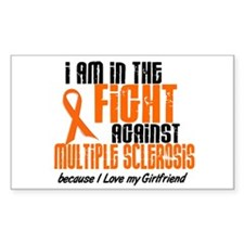 In The Fight Against MS 1 (Girlfriend) Decal