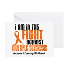In The Fight Against MS 1 (Girlfriend) Greeting Ca