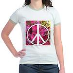 Peace Now! Jr. Ringer T-Shirt