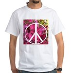 Peace Now! White T-Shirt