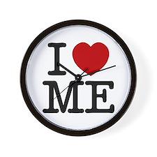 I LOVE ME By RIFFRAFFTEES.COM Wall Clock