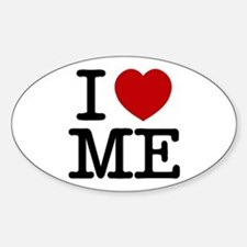 I LOVE ME By RIFFRAFFTEES.COM Decal