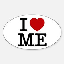 I LOVE ME By RIFFRAFFTEES.COM Sticker (Oval)