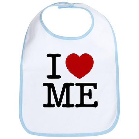 I LOVE ME By RIFFRAFFTEES.COM Bib
