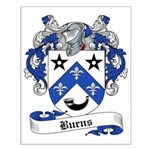 Burns Family Crest Small Poster