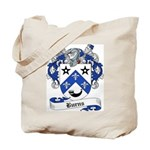 Burns Family Crest Tote Bag