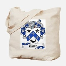 Burns Family Crest Tote Bag