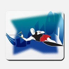 Slalom Waterskier Mousepad