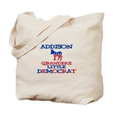 Addison - Grandpa's Democrat Tote Bag