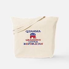 Gianna - Grandpa's Little Rep Tote Bag
