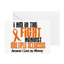 In The Fight Against MS 1 (Mommy) Greeting Cards (