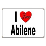 I Love Abilene Banner