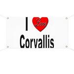I Love Corvallis Banner