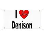 I Love Denison Banner