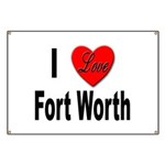 I Love Fort Worth Texas Banner