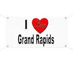 I Love Grand Rapids Michigan Banner