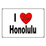 I Love Honolulu Banner