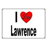 I Love Lawrence Banner