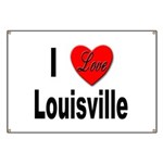 I Love Louisville Kentucky Banner