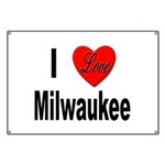 I Love Milwaukee Wisconsin Banner