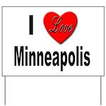 I Love Minneapolis Yard Sign