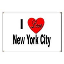 I Love New York City Banner